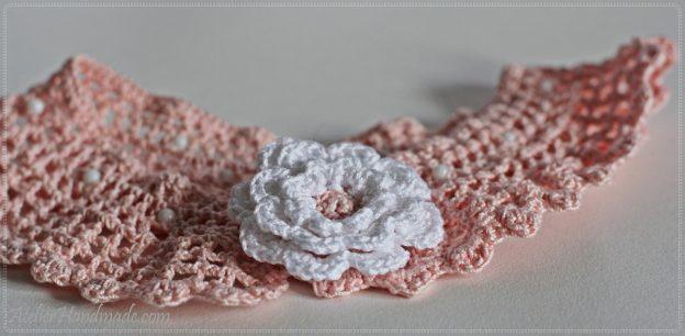 Modele de gulere crosetate | Crochet Collar