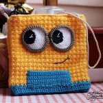 Geanta crosetata minion – Minion Bag