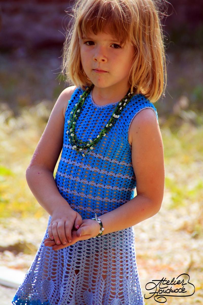 rochie crosetata de vara