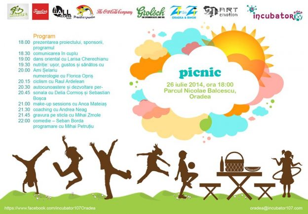 Mare picnic mare la Incubator107 Oradea!