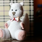 Jucarii crosetate: Mr. Squirrel – crochet squirrel