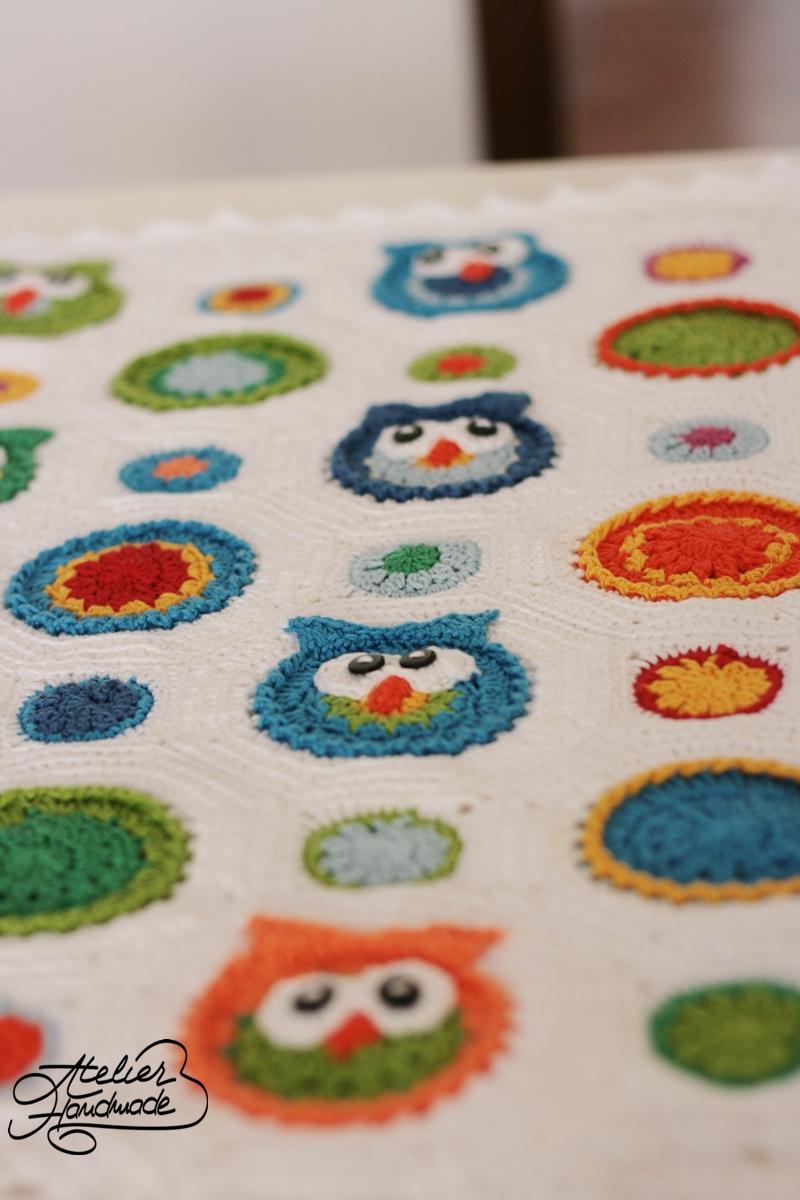 owl-crochet-blanket