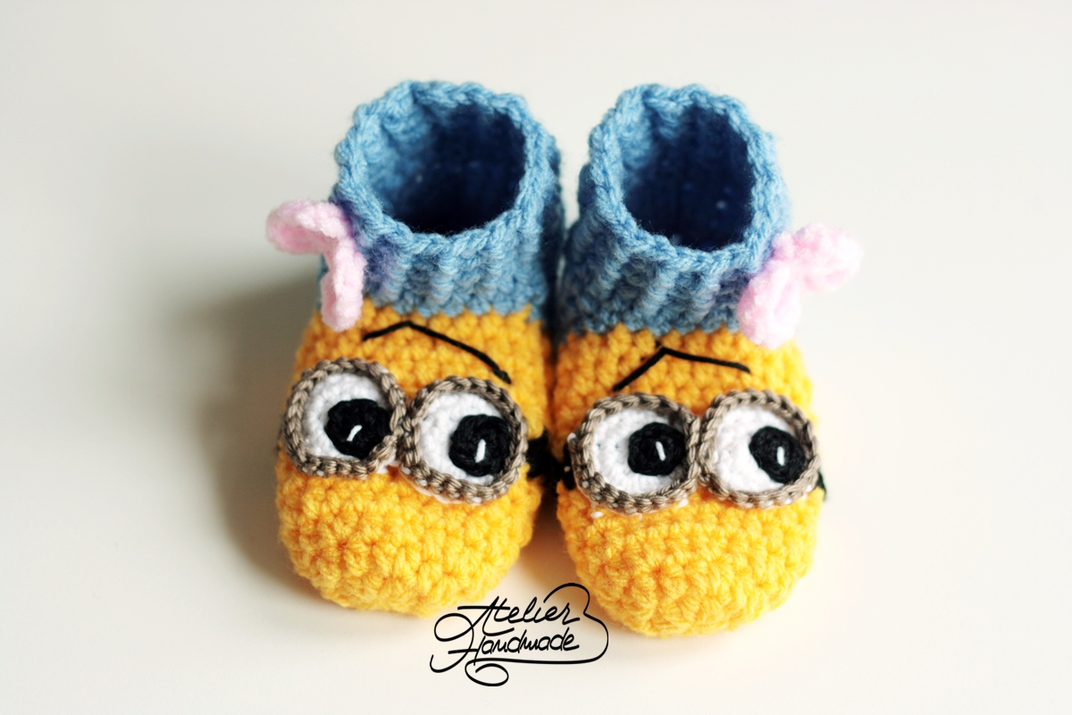 baby minion slippers