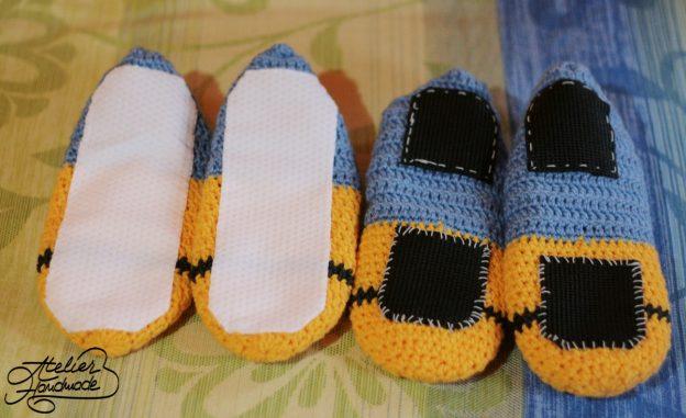 Talpă antiderapantă pentru papuci/botoși – non slip sole