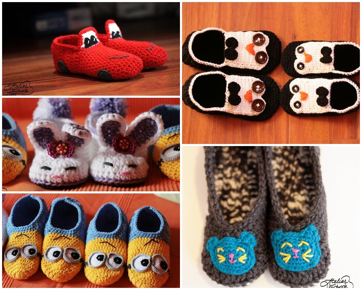crochet-slippers
