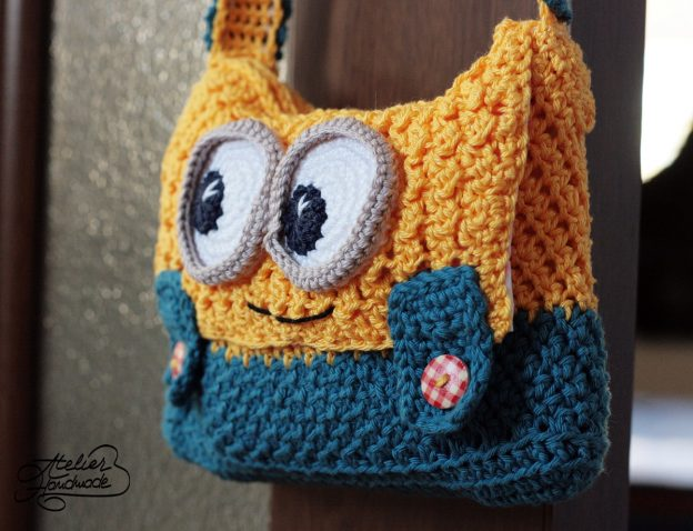 Minion Purse Crochet Pattern is now Online!