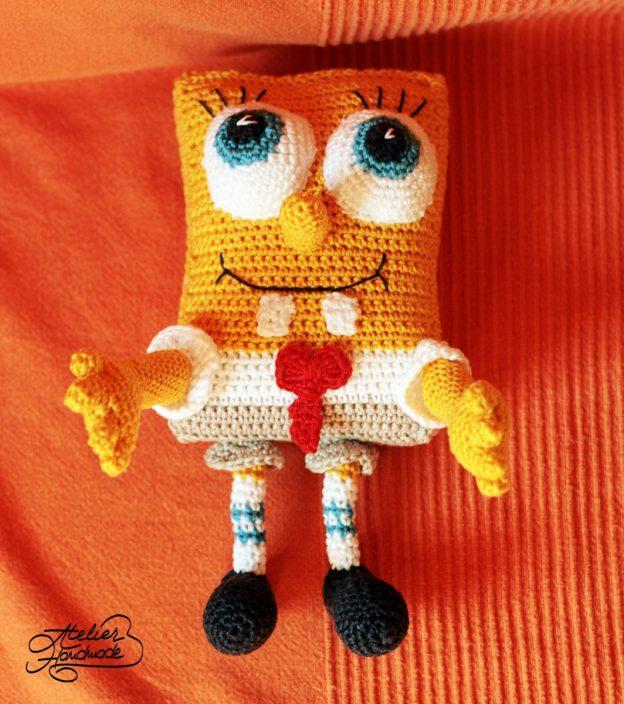 Amigurumi: Crochet Spongebob Squarepants