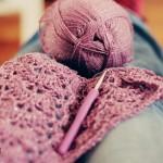 WIP: Crochet Shawl of Alize Sal yarn