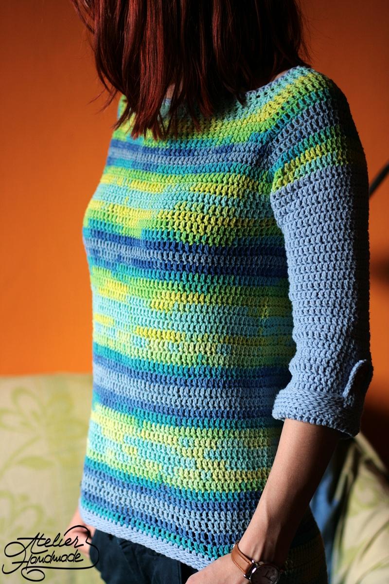 crochet blouse for spring