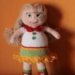 Amigurumi Doll: Nadia, the librarian