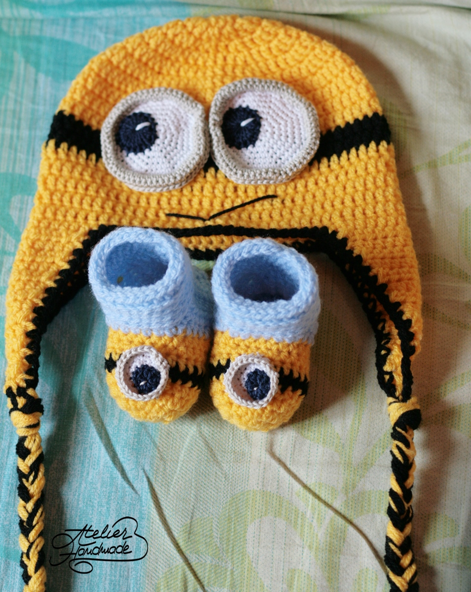 caciula-botosei-minion-crosetate