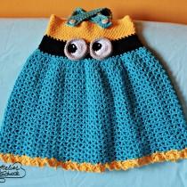 crochet-minion-dress