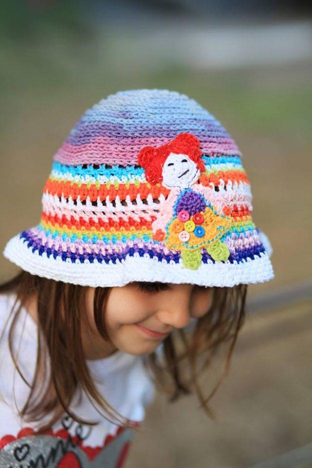 Tutorial Crochet Spring Hat – Palarie de primavara