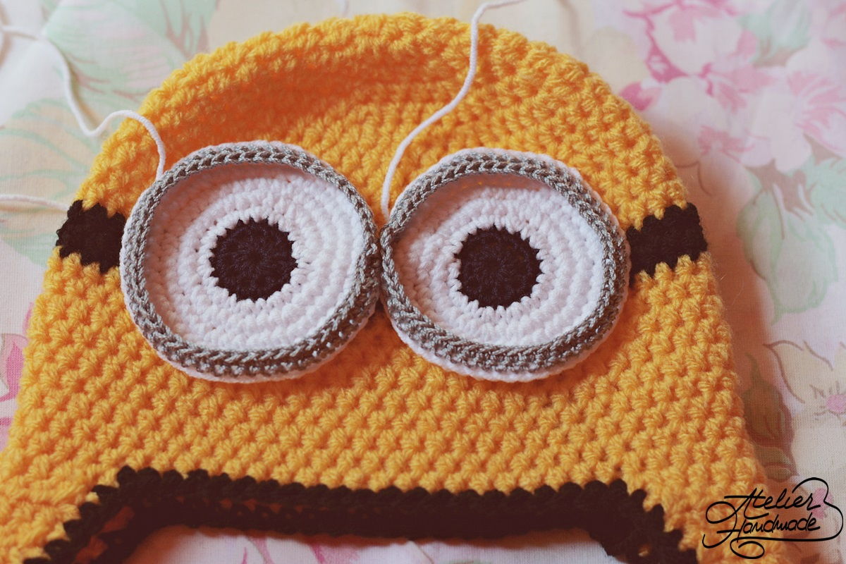 crochet-minion-eyes