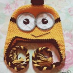Free pattern: Crochet Minion hat