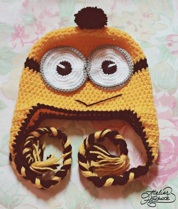 Free pattern: Crochet Minion hat