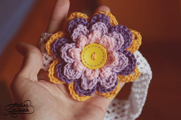 Weekly crochet flower (1)