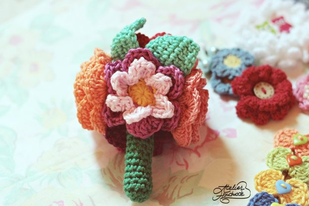 Weekly crochet flower (II)