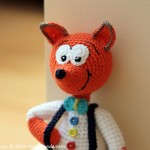 Crochet Fox Pattern: Vasilik, the snob / Jucarii crosetate