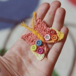 Free Pattern: Crochet Butterfly – Croseteaza un fluture