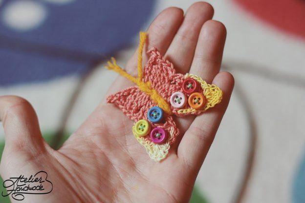 Free Pattern: Crochet Butterfly – Croseteaza un fluture