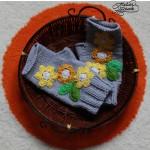 Spring knitted mittens – Mitene tricotate