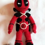 Free Crochet Pattern – DeadPool – Jucarie Crosetata