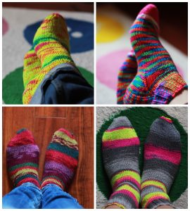 pretty-knitted-socks