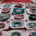 Meadow CAL Update – Patura crosetata cu flori