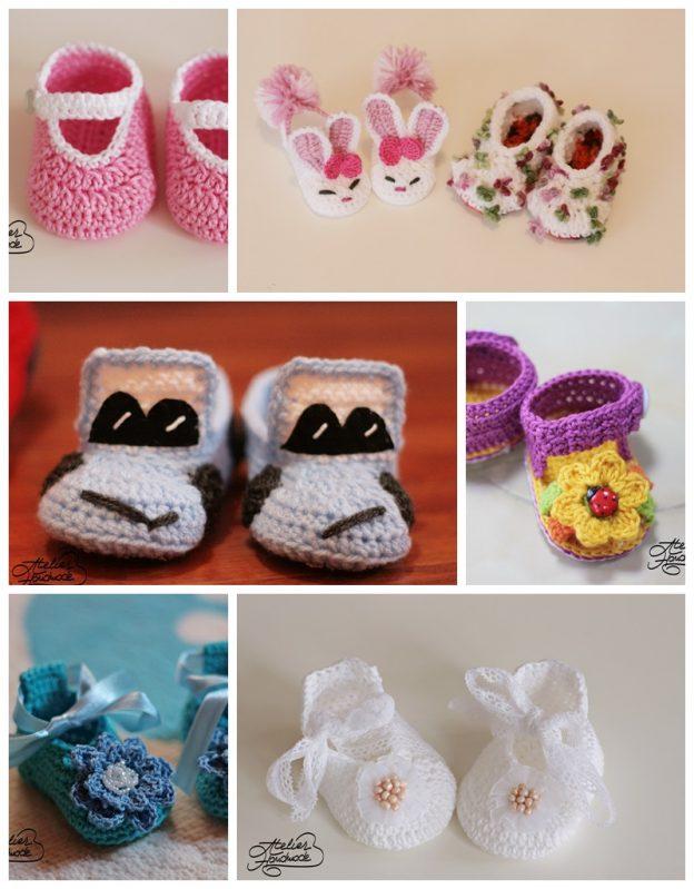 Crochet slippers – Papuci de casă croșetați