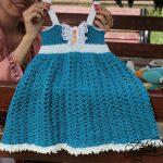 Summer crochet dress – Rochițe croșetate pentru vară