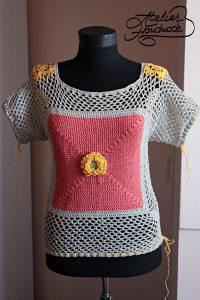tricou-crosetat