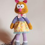 Crochet Cat Pattern – Tutorial de crosetat o pisica