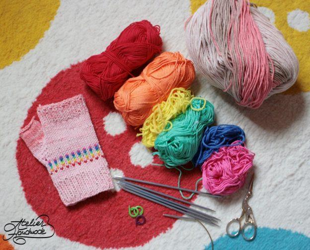How to knit mittens – Cum să tricotezi mitene?