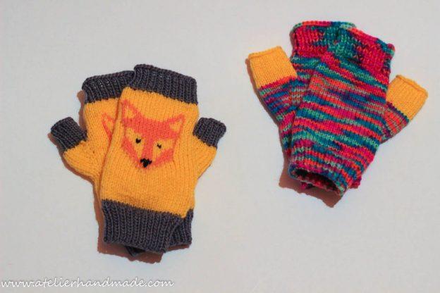Knit mittens – mitene tricotate