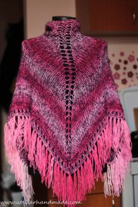 knit shawl wool