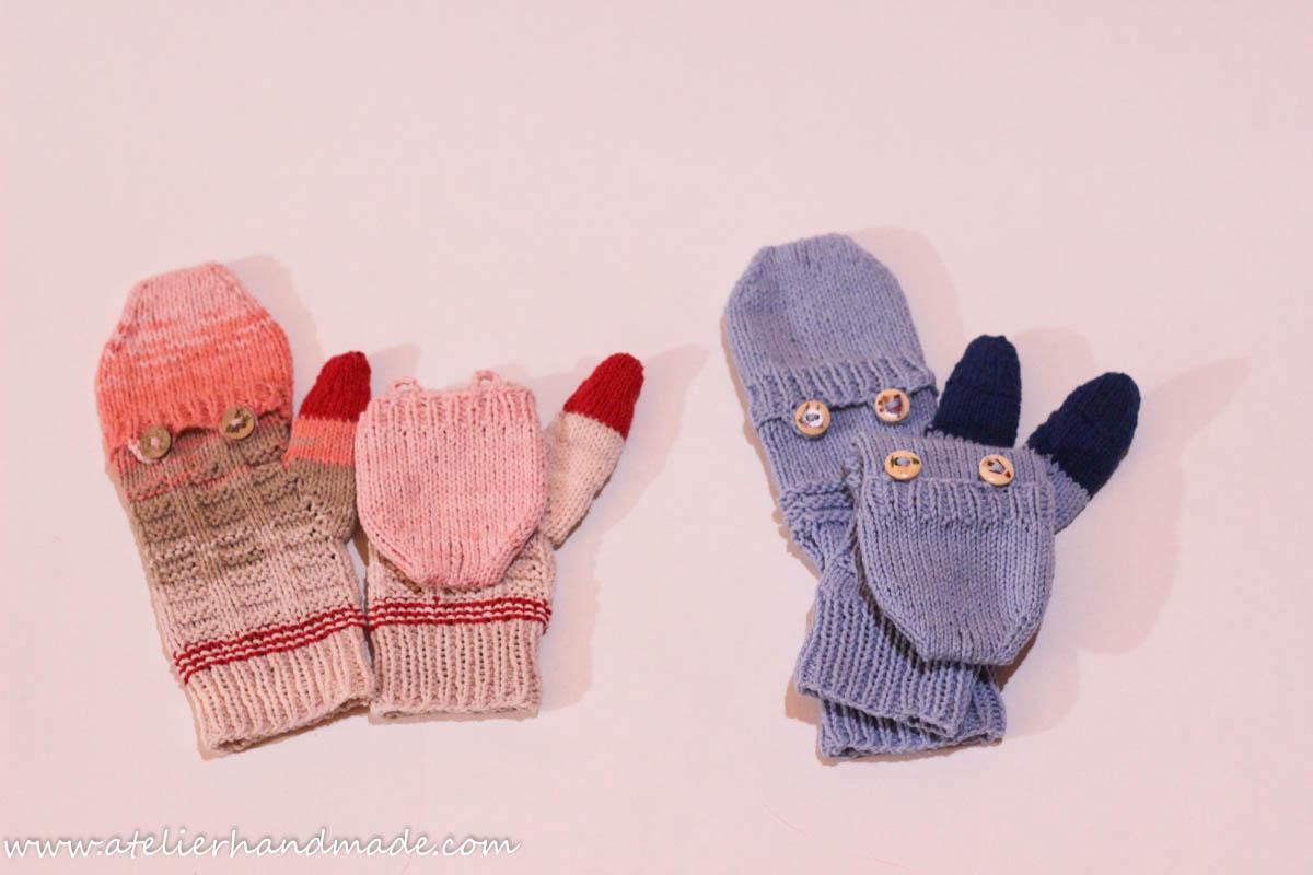 mittens mitene tricotate
