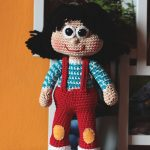 Her name was Lola – Crochet Doll – Papusa Crosetata