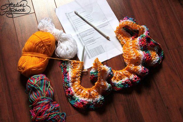 Knitting WIPs Mai 2017 – Proiecte de tricotat în mai 2017