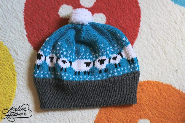 Căciuli tricotate cu oi – Baa Ble knit hat