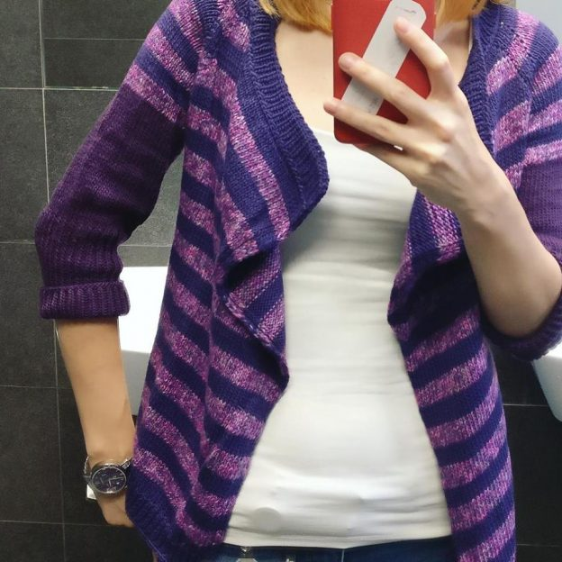 Knitted Cardigan: Caramel