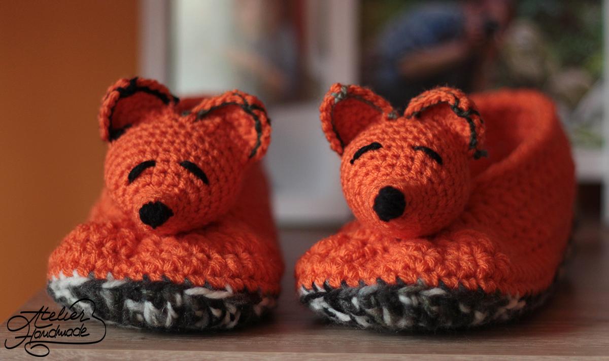 fox-slippers