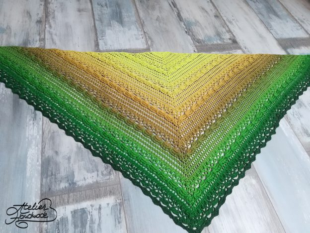 Crochet – Lost in Time shawl