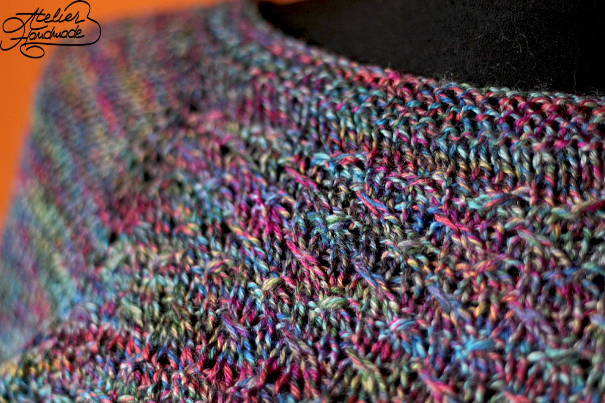 bluza tricotata tehnica RSC