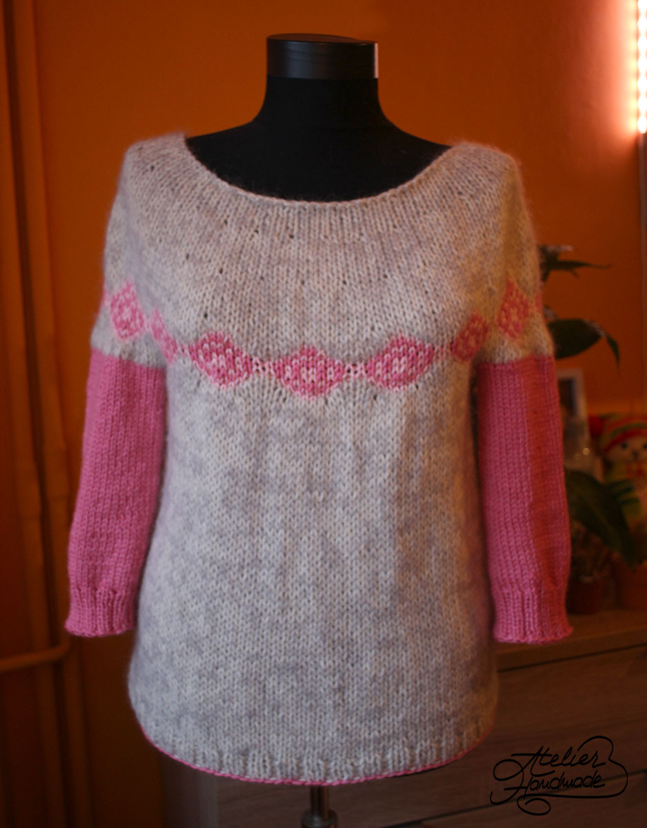 Making Wool Memories – Knitted blouse